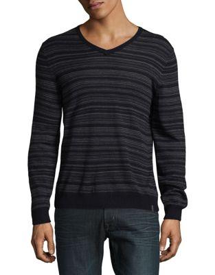 Striped Wool Sweater...