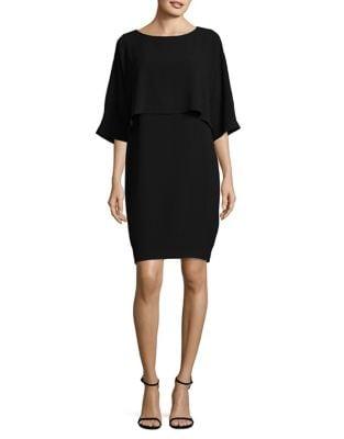 Draped Blouson Sheath Dress by Adrianna Papell