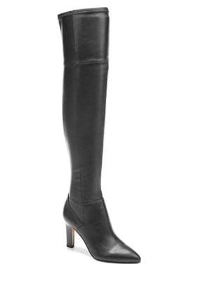 Katie Faux Leather Over-The-Knee Boots by Franco Sarto