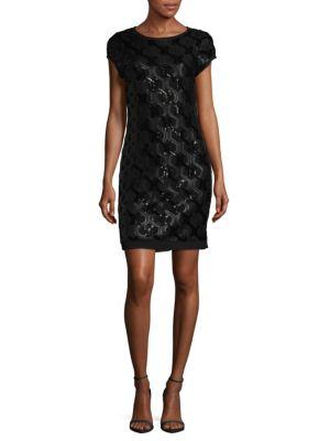Geometric Sheath Dress by Vince Camuto