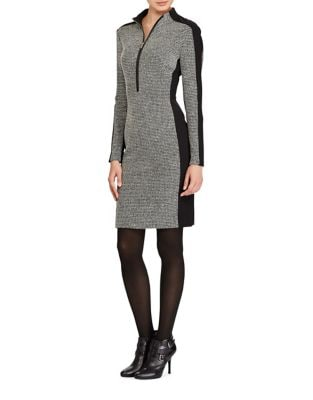 Photo of Houndstooth Sheath Dress by Lauren Ralph Lauren - shop Lauren Ralph Lauren dresses sales