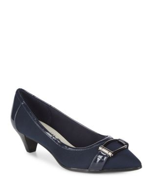Marylyn Point Toe Pumps by Anne Klein