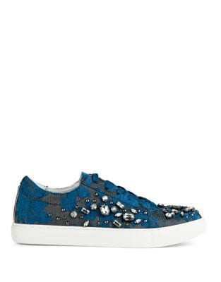 Kam Star Embellished Sneakers by Kenneth Cole New York