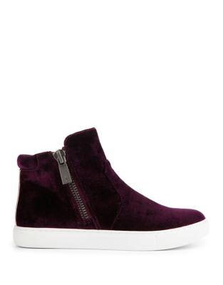 Kiera Velvet Sneaker Boots by Kenneth Cole New York