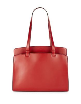 Image of Audrey Under Lock and Key Jana Work Leather Tote