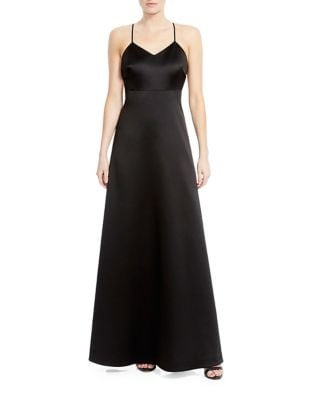A-Line Floor-Length Gown by Halston Heritage
