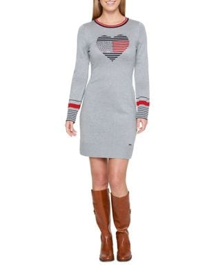 Graphic Sweater Dress by Tommy Hilfiger