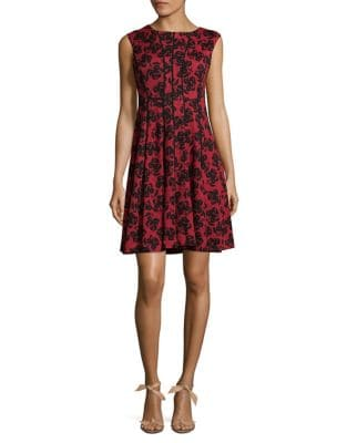Fit-&-Flare Floral Dress by Gabby Skye