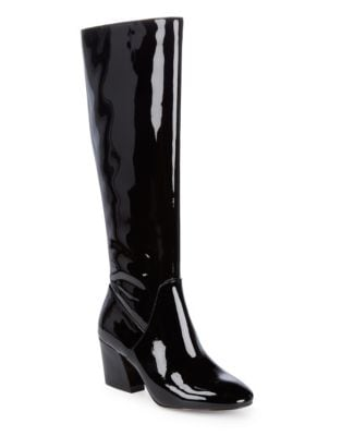 Adelle Patent Leather Knee-High Boots by Botkier New York