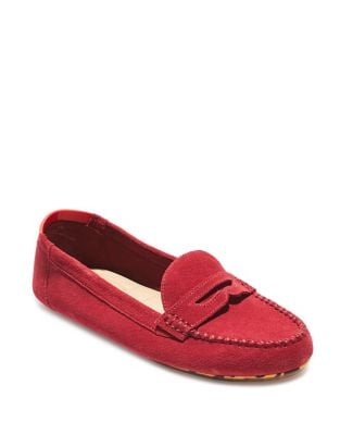 Kami Suede Penny Loafers by Me Too