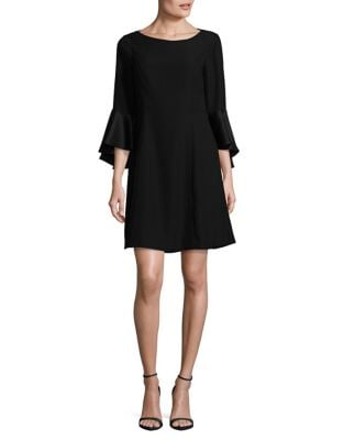 Bell Sleeve Shift Dress by Adrianna Papell