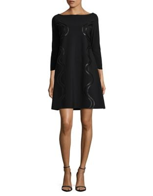 Three-Quarter Sleeve Cocktail Dress by Chiara Boni La Petite Robe