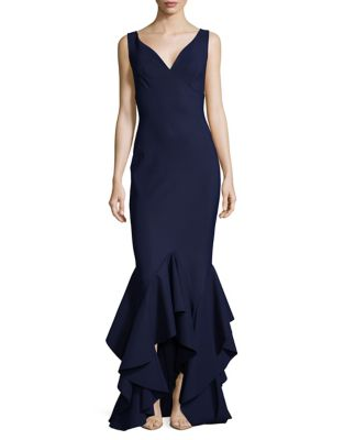 Photo of Sleeveless Trumpet Gown by Chiara Boni La Petite Robe - shop Chiara Boni La Petite Robe dresses sales