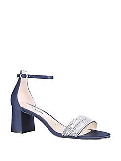 21957723b426e QUICK VIEW. Nina. Elenora Embellished Cutout Sandals