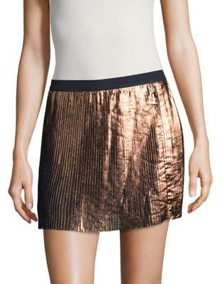 Image of Girl's Pleated Mini Skirt