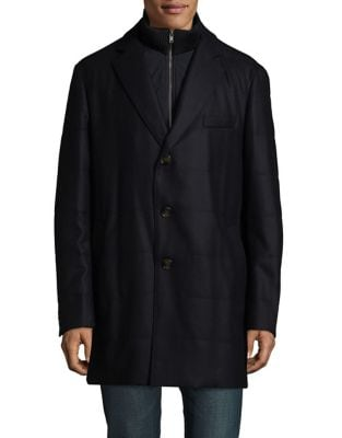 Buttoned Coat @ Lord...