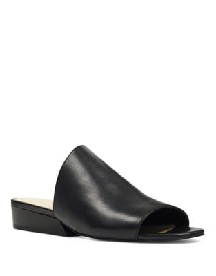 Lynneah Leather Slides by Nine West