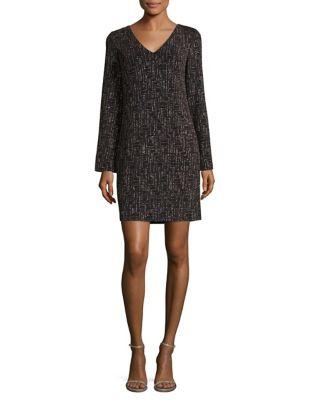 Plus Elegant Shift Dress by Eliza J