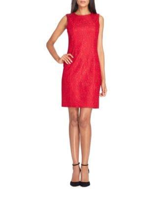 Petite Lace Sleeveless Sheath Dress by Tahari Arthur S. Levine