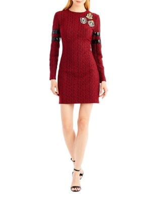 Cable-Knit Sweater Dress by Nicole Miller New York