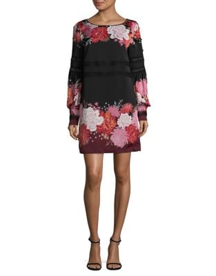 Floral Shift Dress by Laundry by Shelli Segal