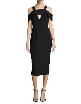 Penley Cold Shoulder Dress by AQ/AQ