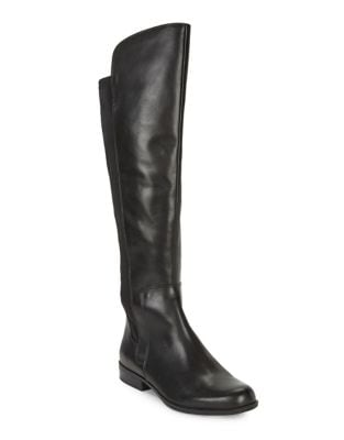 Chieri Wide Calf Leather Over-The-Knee Boots by Bandolino
