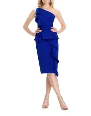 Ruffled Bodycon Dress by AQ/AQ
