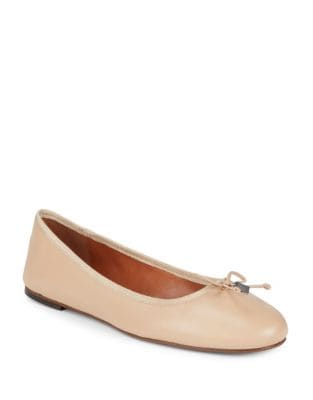 Lola Leather Ballet Flats by COACH