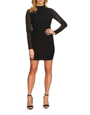 Pique Lace Bodycon Dress by Cynthia Steffe