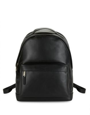 Leather Backpack @...