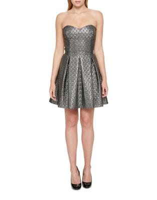 Metallic Cocktail Dress by Guess