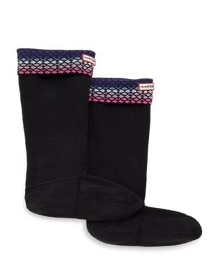 Fairisle Boot Socks by Hunter