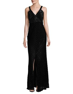 Burnout Velvet Gown by Laundry by Shelli Segal