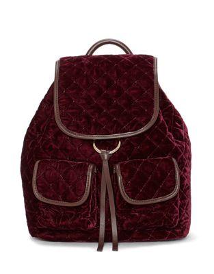 Glenn Velvet Backpack 500087622688