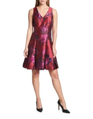 Peony Fit-&-Flare Dress by Tommy Hilfiger