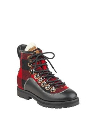 Tonny Plaid High Top Boots by Tommy Hilfiger