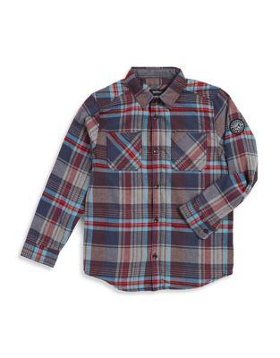 Boy's Plaid Sport Shirt 500087642699