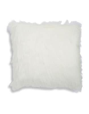 Faux Fur Pillow @...