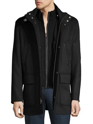 Heathered Coat @...