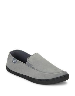 Hoodback Slip-On Loafers...