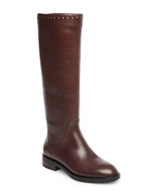 Zeeland Leather Knee-High Boots by Steven by Steve Madden