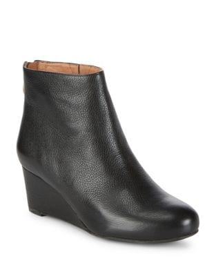 Vicki Leather Booties by Gentle Souls