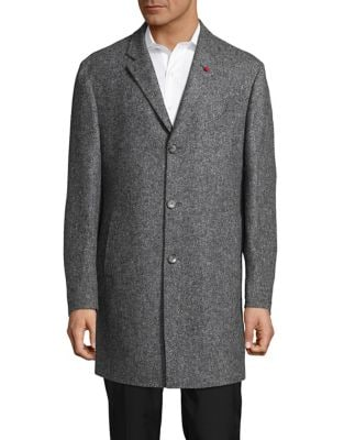 Wool-Cashmere Car Coat...
