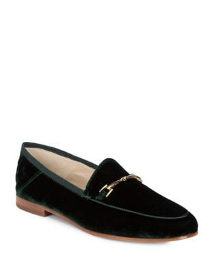 Loraine Velour Loafers by Sam Edelman
