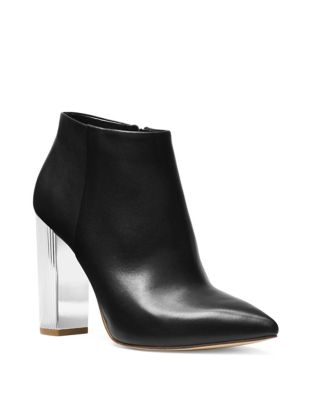 Paloma Leather Ankle Boots by MICHAEL MICHAEL KORS
