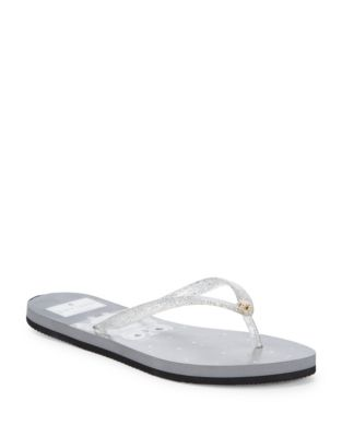 Nassau Starry Owl Rubber Sandals by Kate Spade New York