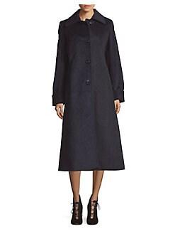 437a5dceb QUICK VIEW. JONES NEW YORK. Plaid Wool-Blend Maxi Coat