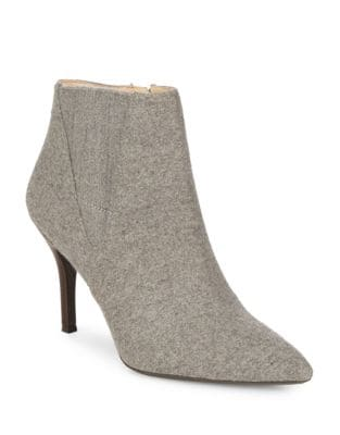 Front Wool Booties by Nine West