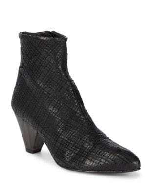 Aspect Textured Leather Booties by Free People
